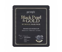 Маска для лица Black Pearl Gold Hydrogel Mask Pack PETITFEE