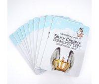 Тканевая маска для лица Silky Creamy Donkey Steam Cream Elizavecca