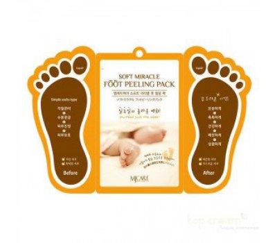 Пилинг для ног Soft Miracle Foot Peeling Pack, Mijin