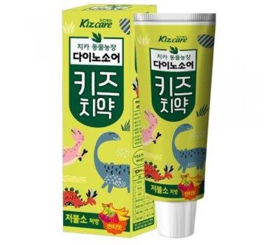 Детская зубная паста с ярким вкусом микса фруктов Mukunghwa Kizcare Fruit Mix (с пониженным содержанием фтора), 80 гр