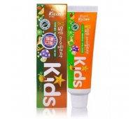 Детская гелевая зубная паста с ярким тропическим вкусом Mukunghwa Kizcare Kids, 75 гр
