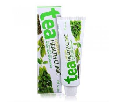 Mukunghwa Tea Catechin Health Clinic Зубная паста отбеливающая с экстрактом зеленого чая, 100 гр