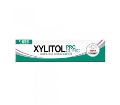 Mukunghwa Xylitol/ Pro Clinic Зубная паста c экстрактами трав для укрепления эмали (коробка), 130 гр