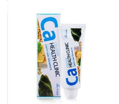 Mukunghwa Calcium Health Clinic Зубная паста с кальцием для профилактики кариеса, 100 гр