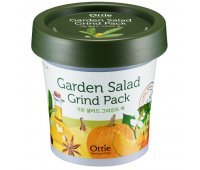 Глиняная маска с овощным комплексом Ottie Garden Salad Green Pack, 100 мл