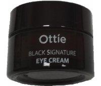Крем для век с муцином черной улитки Ottie Black Signature Eye Cream, 30 мл