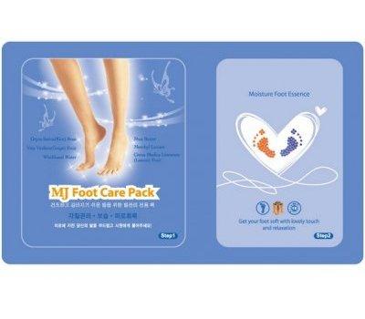 Маска для ног с гиалуроновой кислотой Foot Care Pack, Mijin