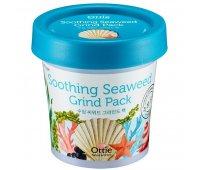 Маска для лица с экстрактом водорослей и морской водой Ottie Soothing Seaweed Green Pack, 100 мл
