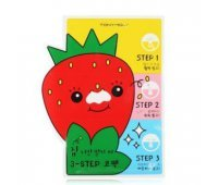 Патчи для носа Homeless Strawberry Seeds 3-step Nose Pack Tony Moly
