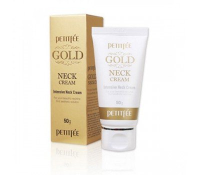 Антивозрастной крем для шеи с золотом Gold Intensive Neck Cream PETITFEE