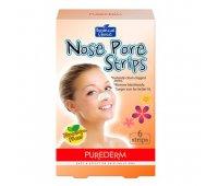 Очищающие полоски для носа Nose Pore Strips, PureDerm