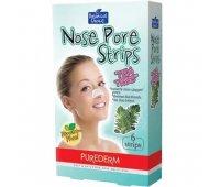 Очищающие полоски для носа с чайным деревом Nose Pore Strips Tea Tree, PureDerm