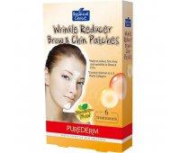 Патчи против морщин между бровей Wrinkle Reducer Brow Chin Patches, PureDerm