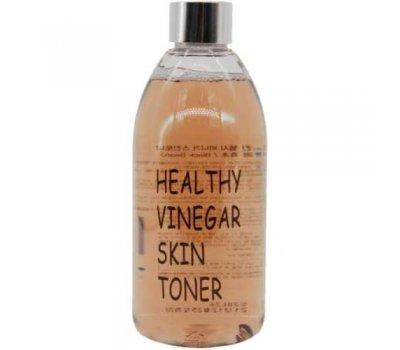 Real Skin Healthy Vinegar Skin Toner (Black Bean) Тонер для лица с экстрактом черных соевых бобов, 300 мл