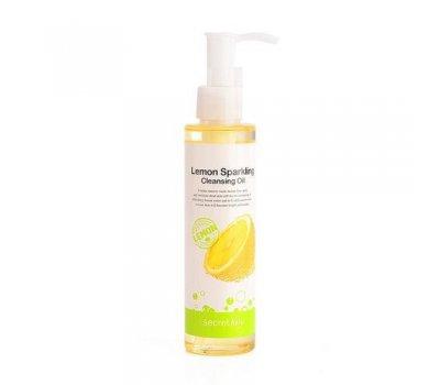 Secret Key Lemon Sparkling Cleansing Oil Гидрофильное масло с экстрактом лимона, 150 мл