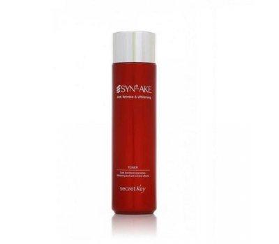 Secret Key Syn-Ake Anti Wrinkle & Whitening Toner Антивозрастной тонер для лица с пептидом, 150 мл