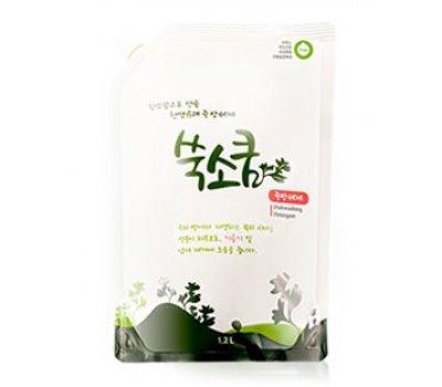 Средство для мытья посуды в мягкой упаковке 1,2 л, Dish wash detergent, Ssook Soo Qoom