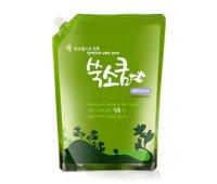 Стиральный порошок жидкий в мягкой упаковке 1,6 л, Liquid Laundery Detergent, Ssook Soo Qoom