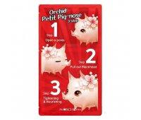 Набор для очищения кожи носа от черных точек Petit Pig-Nose 3 Step Nose Pack, The Orchid Skin