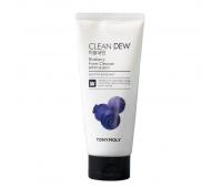 Пенка для умывания с экстрактом черники Clean Dew BlueBerry Cleanser Tony Moly, 180 мл