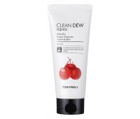 Пенка для умывания с экстрактом ацеролы Clean Dew Acerola Foam Cleanser Tony Moly, 180 мл