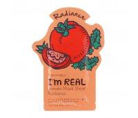 Тканевая маска с экстрактом томата I'm Real Tomato Mask Sheet Tony Moly, 21 мл