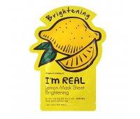 Тканевая маска с экстрактом лимона I'm Real Lemon Mask Sheet Tony Moly, 21 мл