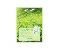 Тканевая маска для лица Tony Moly Pureness 100 Green Tea Mask Sheet, 21 мл