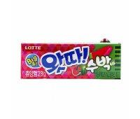 Жевательная резинка с арбузом WHATTA Big Bubble Gum Watermelon LOTTE, 23 гр