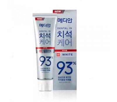 Зубная паста отбеливающая с цеолитом Median Toothpaste White, 120 гр