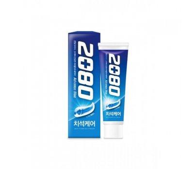 Отбеливающая зубная паста Aekyung 2080 Advance Blue Toothpaste Scrub Essence, 120 гр
